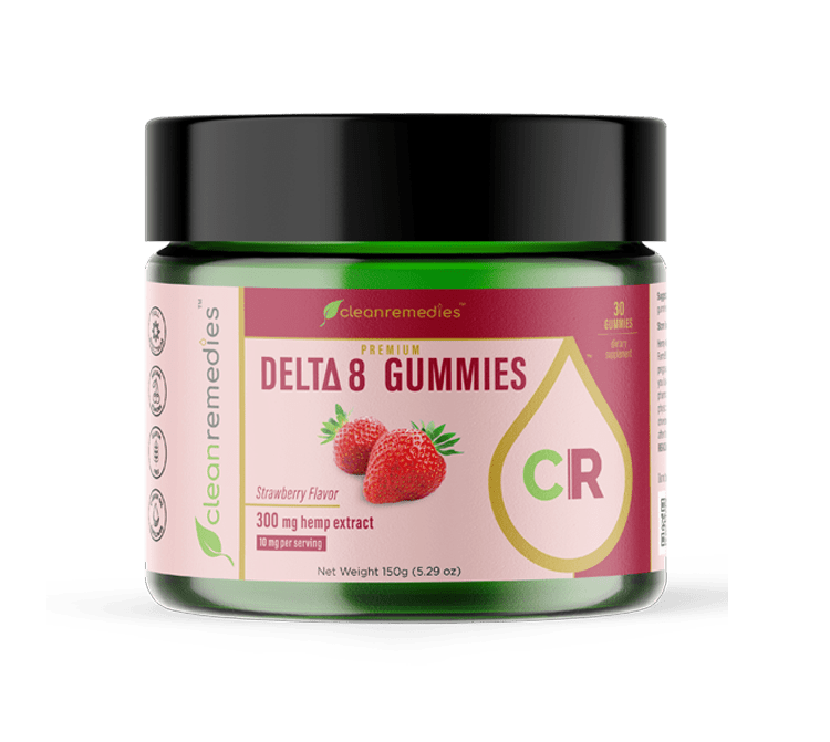 Clean Remedies Delta 8 Gummies 300MG