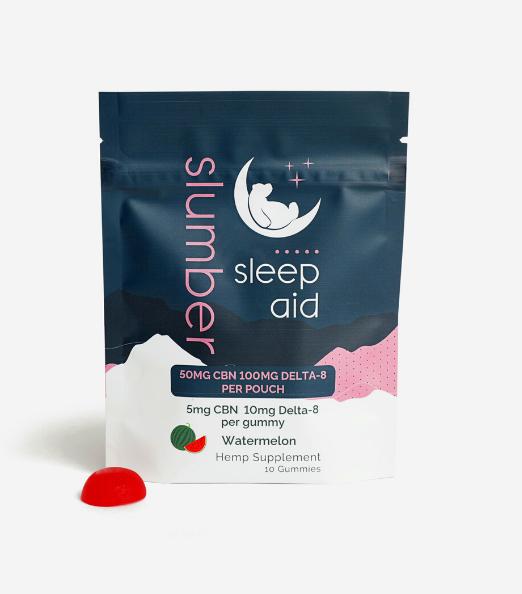 Slumber Sleep Aid Gummies -Delta 8 / CBN Gummy (10 Count)