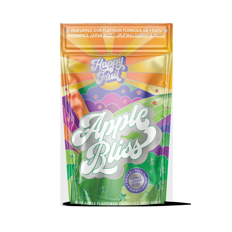 Happy Fruit Apple Bliss 25mg Delta 8 + 5mg THCV