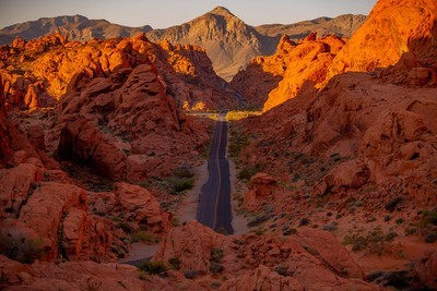 Sunrise at the Valley of Fire