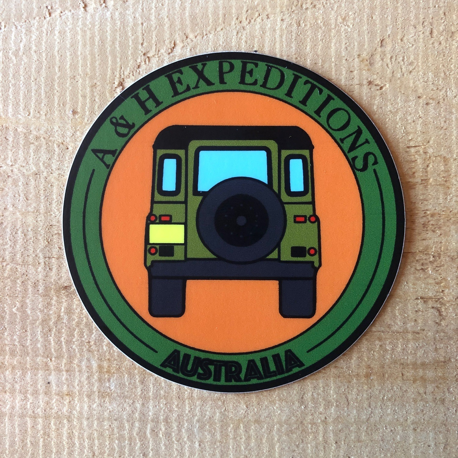 A & H Land Rover Decal