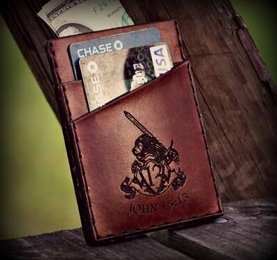 John 15:13 Front Pocket Wallet
