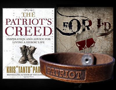 Patriot Collection Bracelet + Autographed Copy of The Patriot's Creed