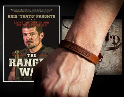Patriot Collection Bracelet + Autographed Copy of The Ranger Way (Paperback)
