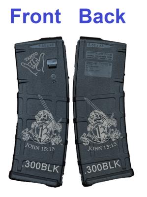 Tanto Tactical Gear - John 15:13 Mag [.300BLK 30rnd]