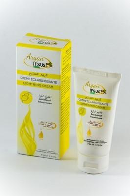 Crème éclaircissant à l'huile d'argan