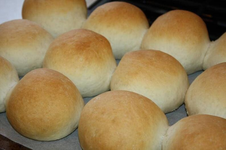 Bread- Yeast Rolls - 1 Dozen
