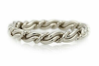 Silver Cord of Three™ Ring