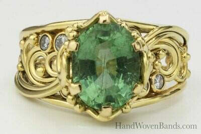 Rarest Stone- Paraiba Tourmaline Ring
