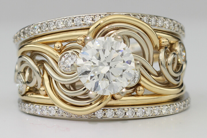 Diamond One of a Kind Ring