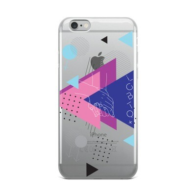 UNITED BY LOVE iPhone Case