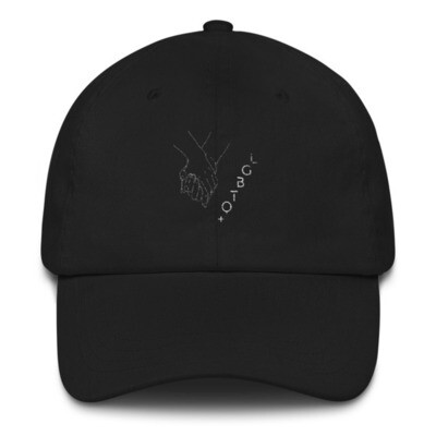 UNITED BY LOVE Dad Hat: White Thread