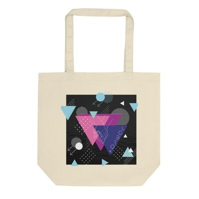 UNITED BY LOVE Organic Eco Tote Bag: Square