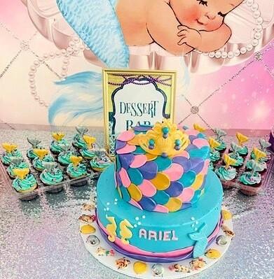 """""""Our Princess"""" Kids Cake"""