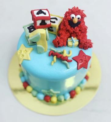 """Hey Elmo!"" Kids Cake"