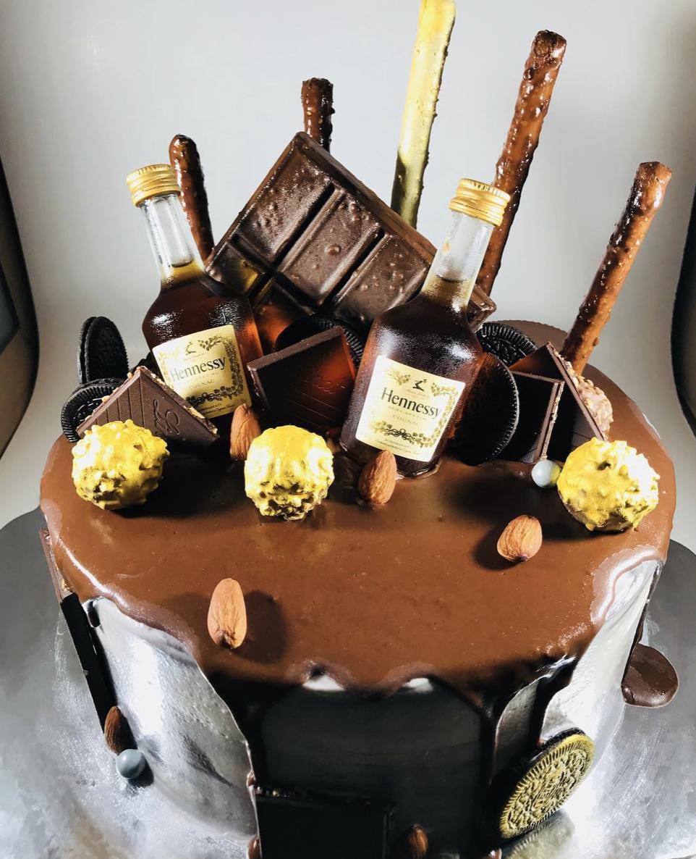 """Pour it Up"" Party Cake"