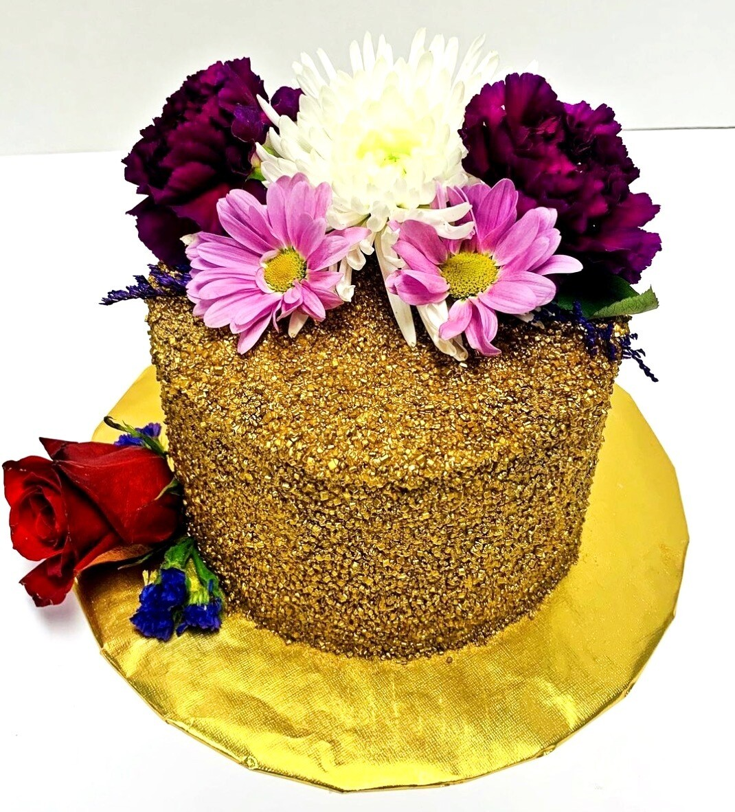 """""""Royal Gold"""" Party Cake"""