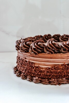 DOUBLE CHOCOLATE QUICK CAKE