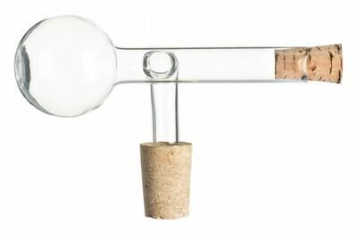 2cl Dosierer & Ausgießer aus Glas mit Naturkork