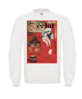 éclat sweater - Rundkragen - Motiv Pudel