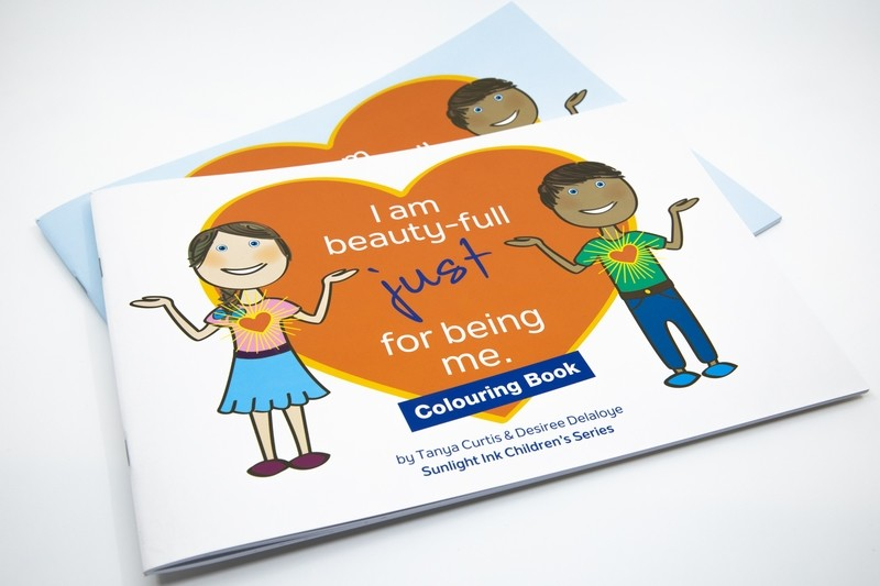 Box Set - I Am Beauty-Full Just for Being Me + Creative 'Colouring' Book