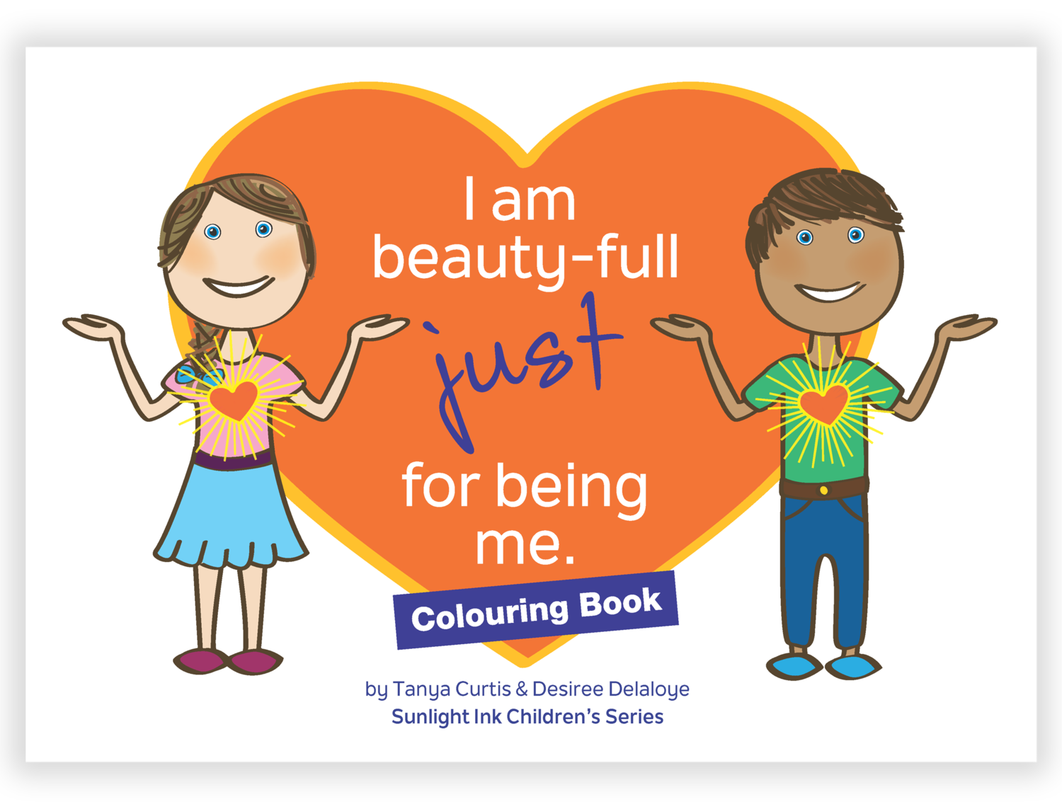 Creative Colouring Book - I Am Beauty-Full Just for Being Me