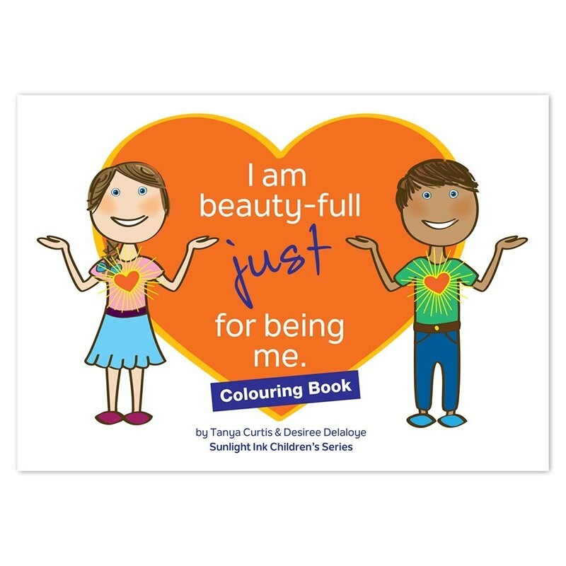 Creative Colouring Book - I Am Beauty-Full Just for Being Me (Picture Book)