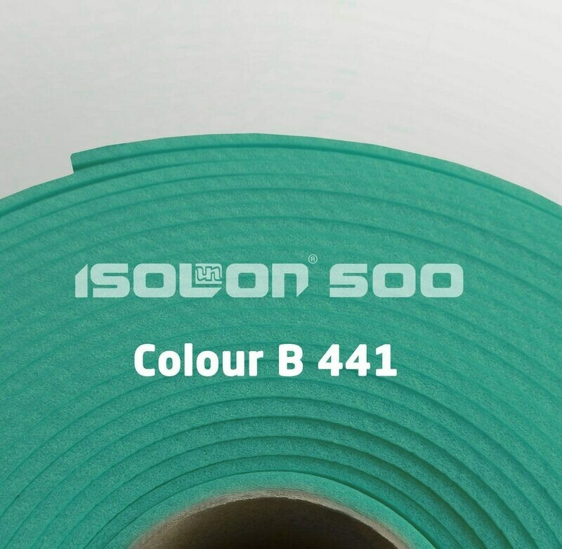 Изолон ППЭ 3 мм, ширина 75 см Цвет: Бирюзовый (B441)