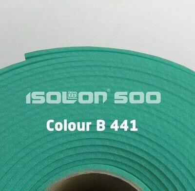 Изолон ППЭ 3 мм, ширина 1,00 м Цвет: Бирюзовый (B441)