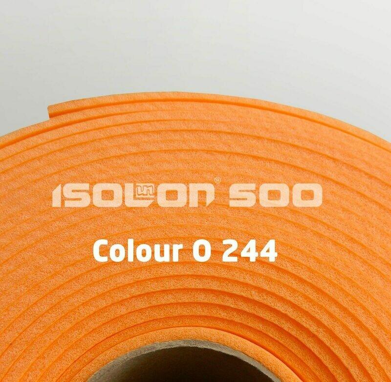 Изолон ППЭ 2 мм, ширина 75 см Цвет: Оранжевый (O244)