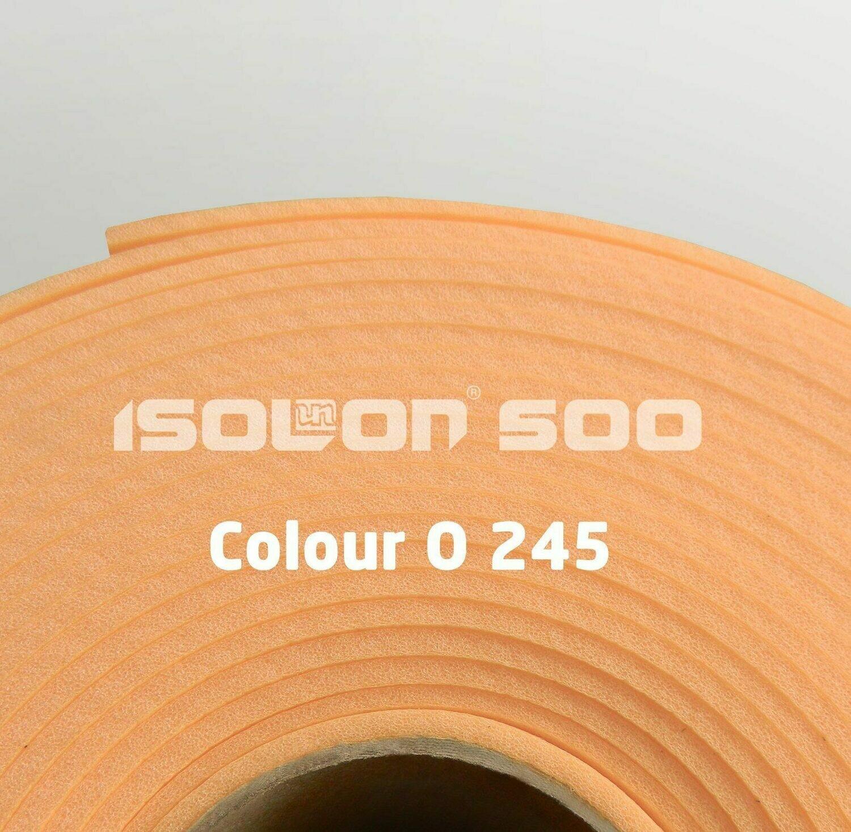 Изолон ППЭ 2 мм, ширина 75 см Цвет: Персиковый (O245)