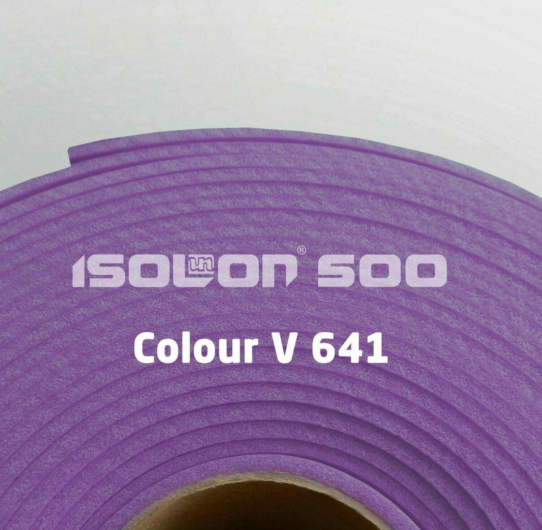 Изолон ППЭ 2 мм, ширина 75 см Цвет: Фиолетовый (V641)