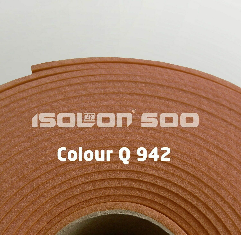 Изолон ППЭ 2 мм, ширина 75 см Цвет: Какао (Q942)