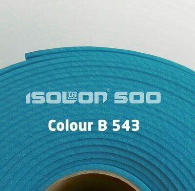 Изолон ППЭ 3 мм, ширина 1,00 м Цвет: Синий (B543)