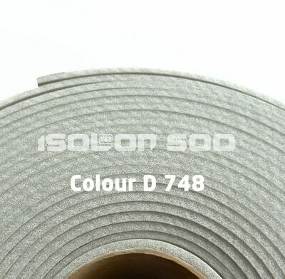 Изолон ППЭ 3 мм, ширина 1,00 м Цвет: Серебро (D748)