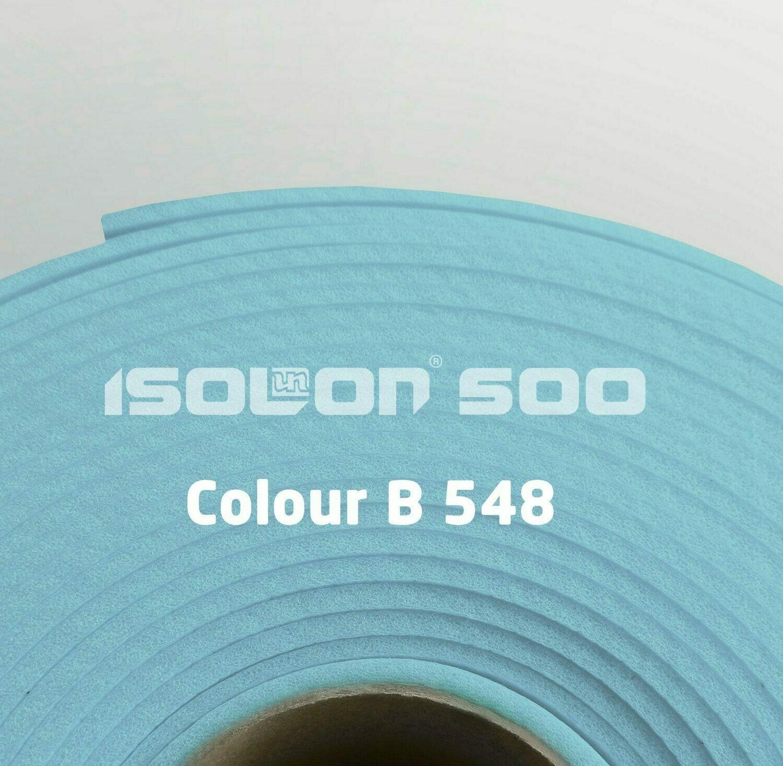 Изолон ППЭ 3 мм, ширина 1,00 м Цвет: Бледно-голубой (B548)