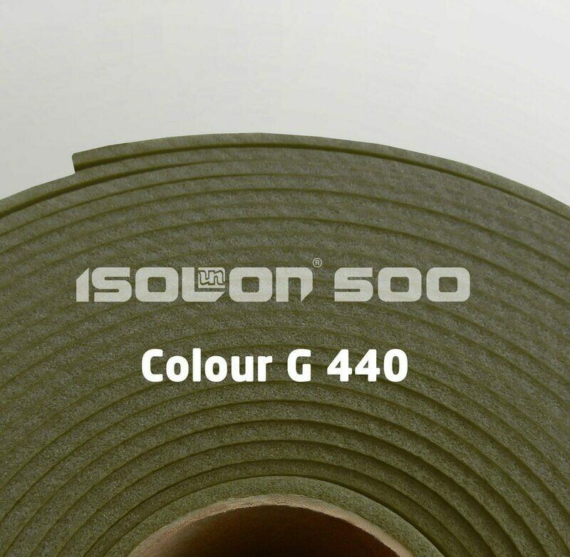 Изолон ППЭ 3 мм, ширина 75 см Цвет: Хаки (G440)