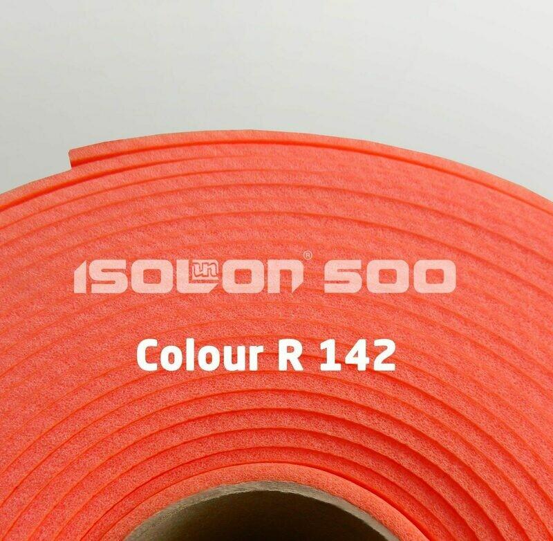 Изолон ППЭ 3 мм, ширина 75 см Цвет: Ярко-красный (R142)