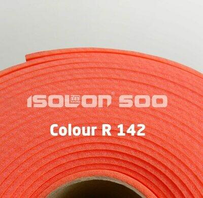Изолон ППЭ 3 мм, ширина 1.00 м Цвет: Ярко-красный (R142)