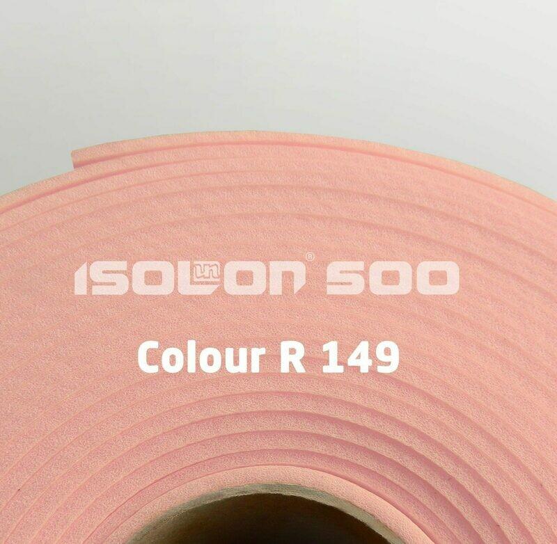 Изолон ППЭ 3 мм, ширина 75 см Цвет: Розовый (R149)