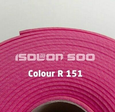 Изолон ППЭ 3 мм, ширина 1,00 м Цвет: Фуксия (R151)