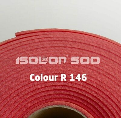 Изолон ППЭ 3 мм, ширина 1,00 м Цвет: Черешня (R146)
