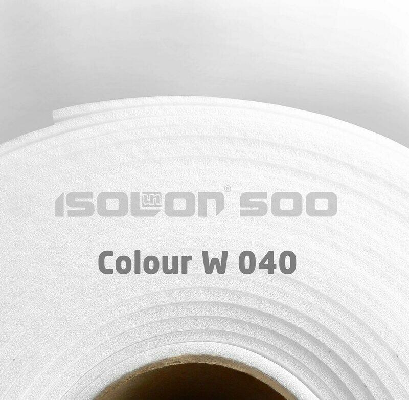 Изолон ППЭ 3 мм, ширина 100 см Цвет: Белый (W040)