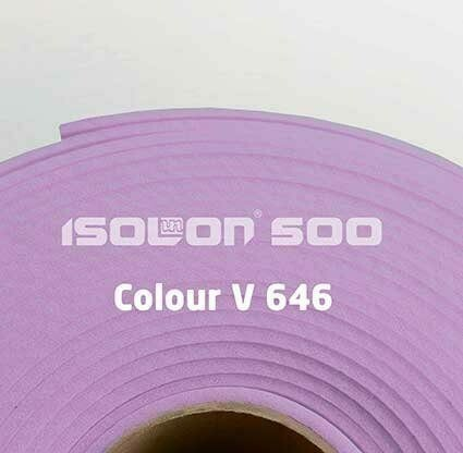 Изолон ППЭ 3 мм, ширина 1,00 м Цвет: Лавандовый (V646)
