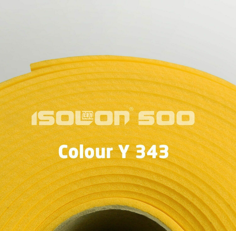Изолон ППЭ 3 мм, ширина 1,00 м Цвет: Желтый (Y343)
