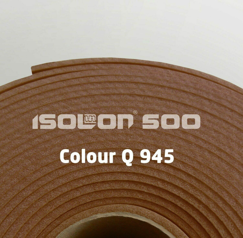 Изолон ППЭ 3 мм, ширина 75 см Цвет: Шоколад (Q945)