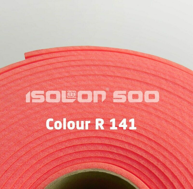 Изолон ППЭ 3 мм, ширина 75 см Цвет: Красный (R141)
