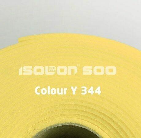 Изолон ППЭ 3 мм, ширина 75 см Цвет: Лимонный (Y344)
