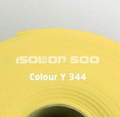 Изолон ППЭ 3 мм, ширина 1,00 м Цвет: Лимонный (Y344)