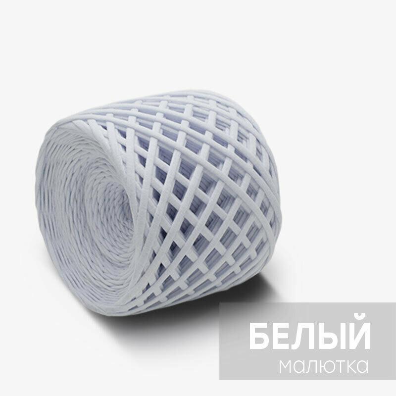 """Трикотажная пряжа """"КОТЭ"""" Малютка (лицевая), цвет: Белый"""